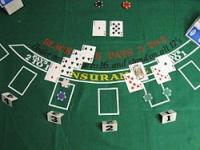 cartes table dés blackjack